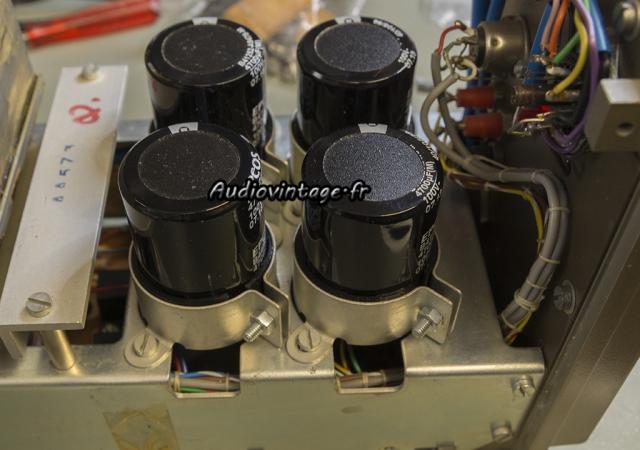 Quad 303 : condensateurs désormais fixés !