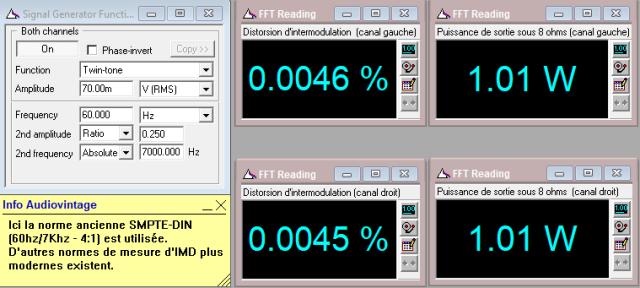 Quad 303 : IMD-a-2x1w-sous-8-ohms