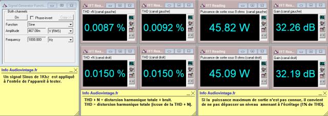 Quad 303 : distorsion-a-2x45w-sous-8-ohms