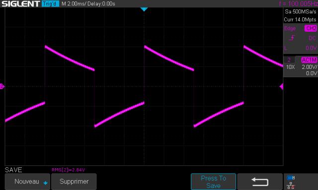 Quad 303 : signal-carre-a-100hz