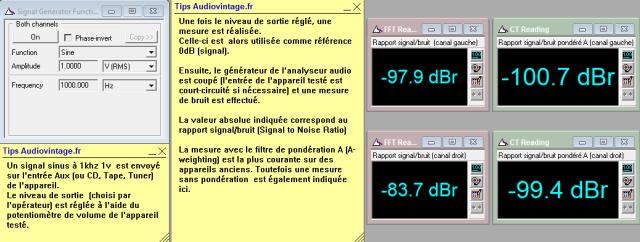 Quad 33 : rapport-signal-bruit-a-1.6v-en-sortie-entree-radio-tone-defeat