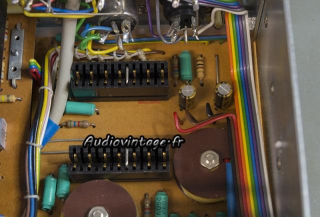 Quad 33 : condensateurs remplacés.