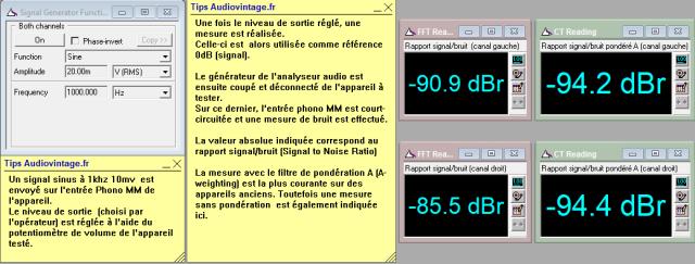 Quad 33 : rapport-signal-bruit-a-1v-en-sortie-entree-phono-tone-defeat