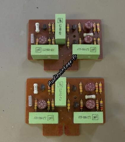 Quad 33 : circuits tonalité à revoir.
