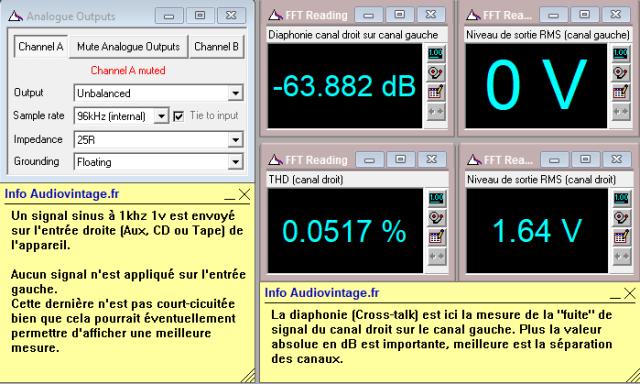 Quad 33 : diaphonie-du-canal-droit-sur-le-canal-gauche-a-1.6v-en-sortie-entree-radio