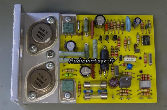 Quad 405-2 : circuit driver à réparer.