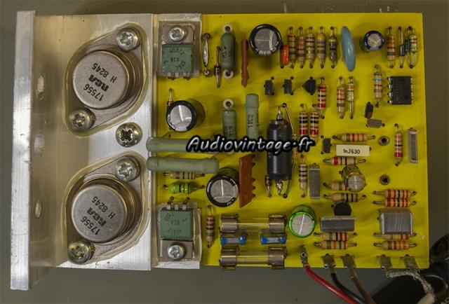 Quad 405-2 : circuit driver réparé et révisé.