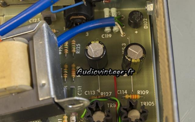 Quad FM 3 :  condensateurs neufs en place.