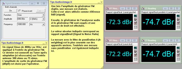 Quad FM 3 : rapport-signal-bruit-en-FM-mono-98Mhz-80dBµV