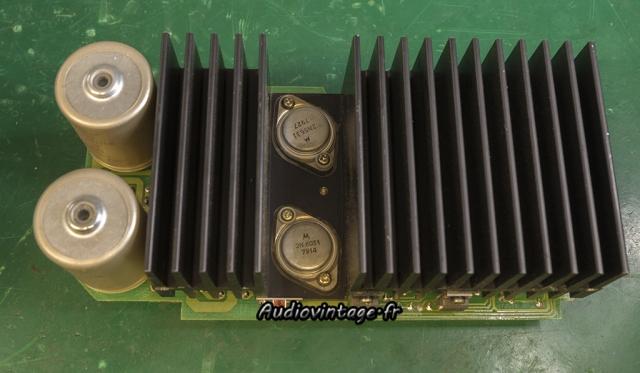 Revox B750 MKII : transistors kaput.