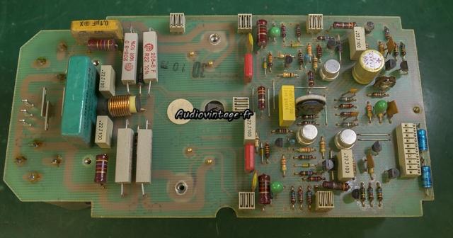 Revox B750 MKII : amplification en panne.