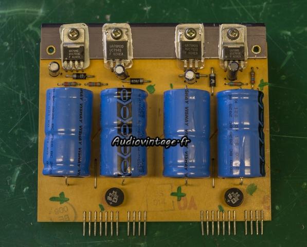 Revox B750 MKII : alimentation révisée.