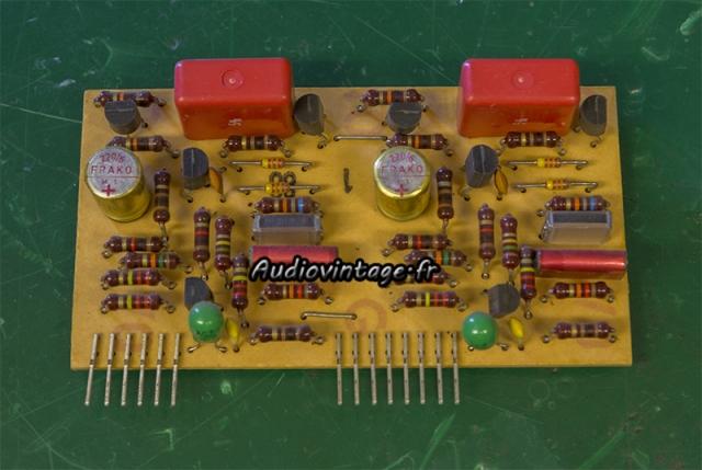 Revox B750 MKII : circuit phono à revoir.