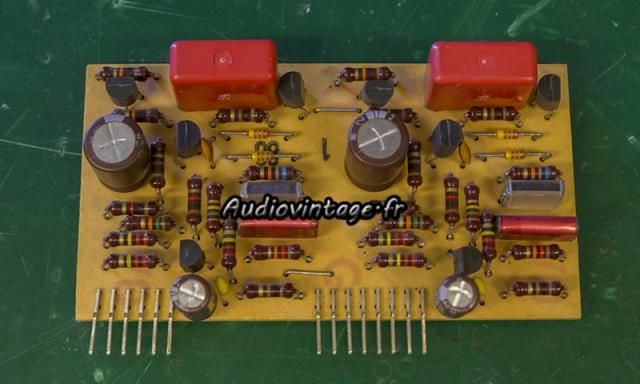 Revox B750 MKII :  circuit phono revu.