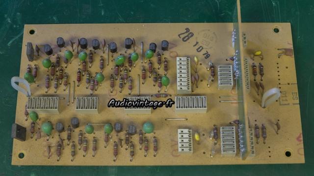 Revox B750 MKII : circuit d'entrée à revoir.