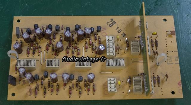 Revox B750 MKII : circuit d'entrée revu.