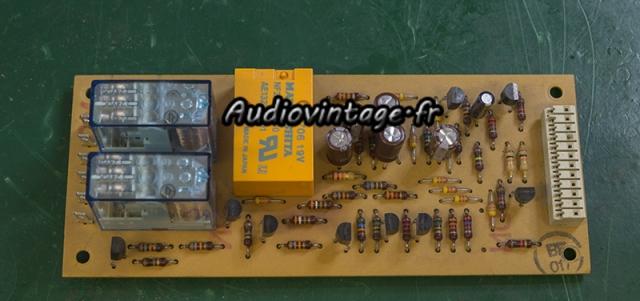 Revox B750 MKII : circuit protection et muting révisé.