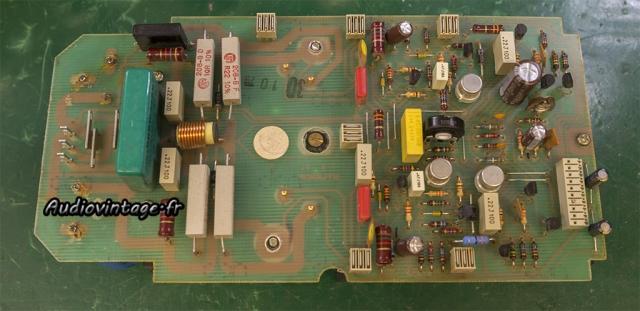 Revox B750 MKII : réparé et révisé.