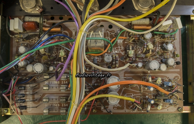 Rotel RA-612 : circuit principal à revoir.