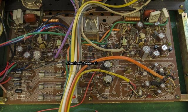 Rotel RA-612 :  circuit principal révisé.