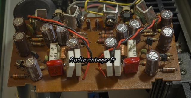 Rotel RA-810 : circuit driver révisé.