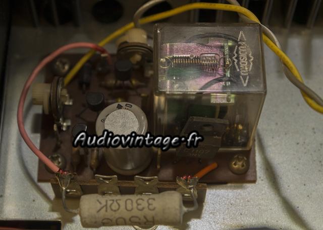 Rotel RA-810 : circuit de protection à revoir.