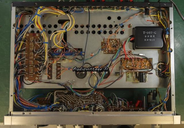 Rotel RA-810 : terminé.