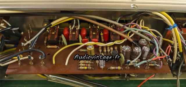 Rotel RA-810 : circuit filtres révisé.