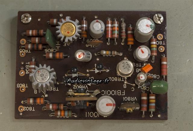 Sansui 2000 : circuit driver à réviser.