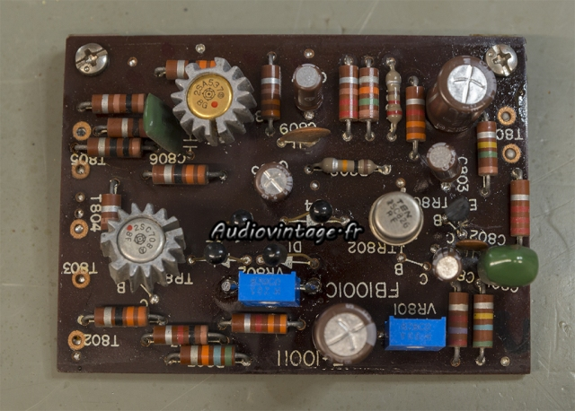 Sansui 2000 : circuit driver revu.