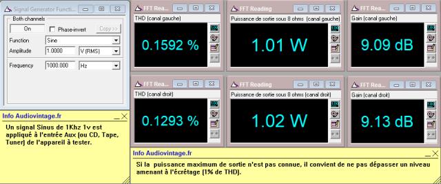 Sansui 2000 : distorsion-a-2x1w-sous-8-ohms-entree-aux