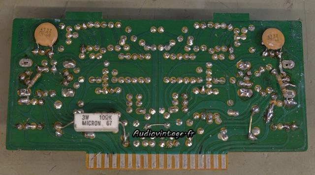 Sansui 8080 : circuit driver pas très propre.