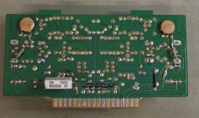 Sansui 8080 : circuit driver nettoyé.