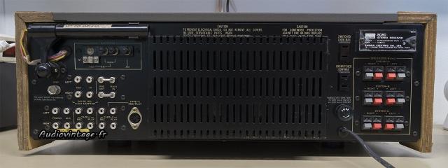 Sansui 8080 : connectique.