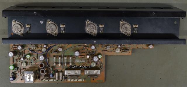 Sansui AU-5500 : circuit principal révisé.