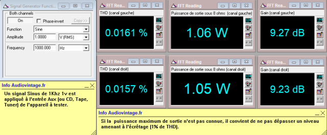 Sansui AU-5500 : distorsion-a-2x1w-sous-8-ohms-entree-aux-tone-defeat