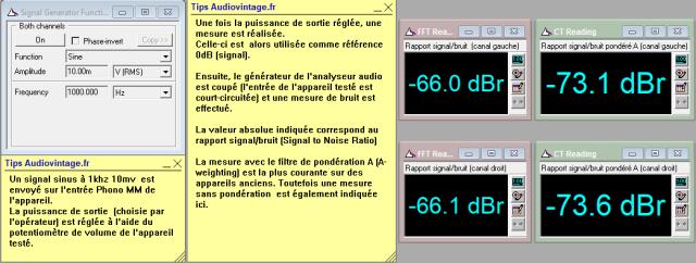 Sansui AU-5500 : rapport-signal-bruit-a-2x1w-sous-8-ohms-entree-phono-tone-defeat