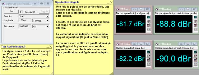 Sansui AU-5500 : rapport-signal-bruit-a-2x35w-sous-8-ohms-entree-aux-tone-defeat