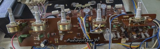 Sansui AU-101 : étage phono/tonalité à revoir.