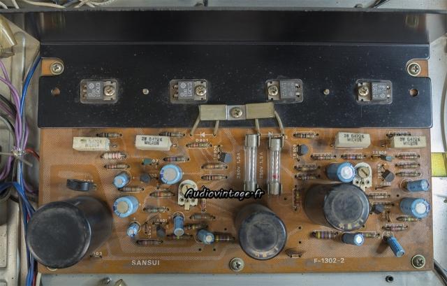 Sansui AU-101 : circuit principal à réviser.