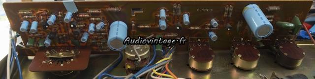 Sansui AU-101 : circuit tonalité/phono à revoir.