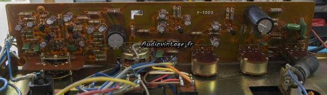 Sansui AU-101 : circuit tonalité/phono révisé.