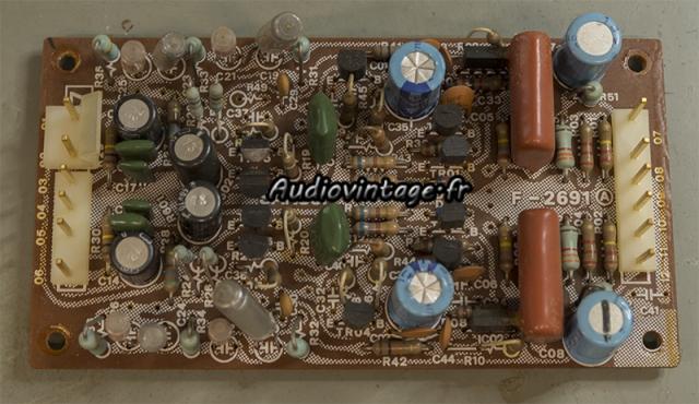Sansui AU-11000A : circuit phono à revoir.