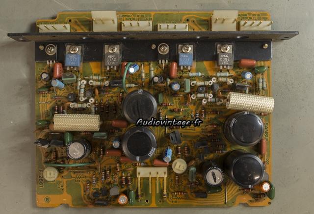 Sansui AU-11000A : circuit driver à réviser.