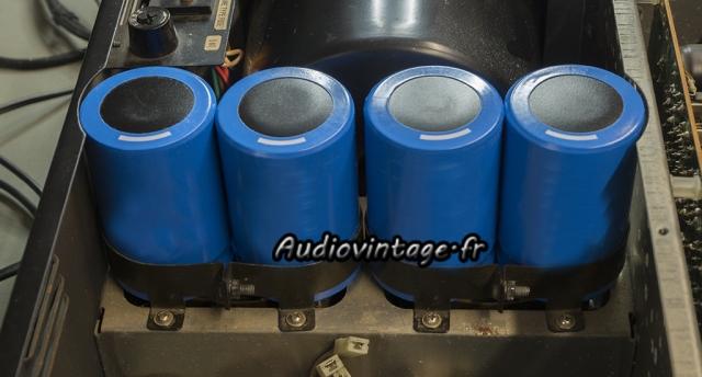 Sansui AU-11000A : condensateurs neufs en place.