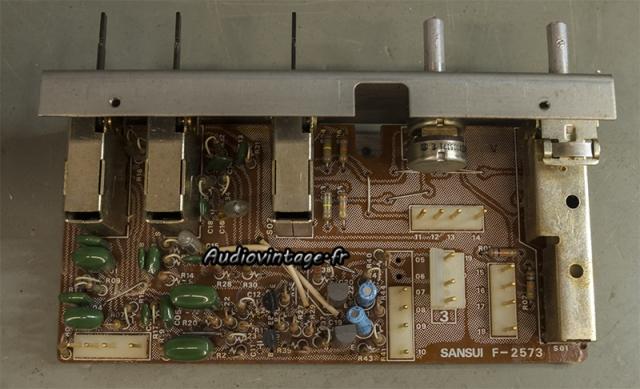 Sansui AU-11000A : circuit filtres à revoir.