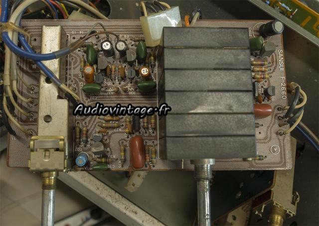 """Sansui AU-11000A : circuit """"volume"""" révisé."""