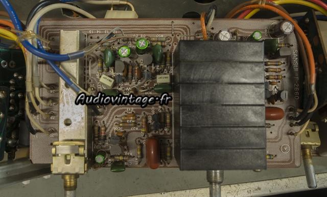 """Sansui AU-11000A : circuit """"volume"""" à revoir."""