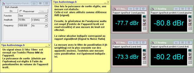 Sansui AU-11000A : Rapport-signal-bruit-a-2x1w-sous-8-ohms-entree-phono-tone-defeat