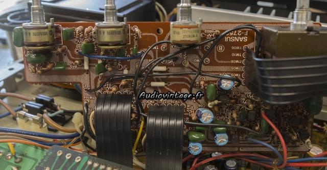 Sansui AU-317 II : circuit de tonalité à revoir.